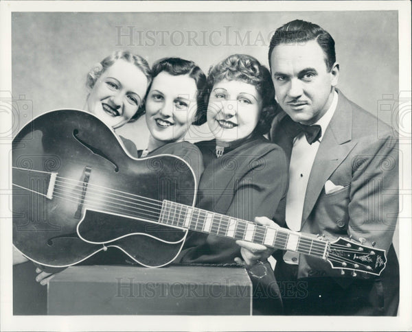 1936 Detroit News Radio The Troopers Press Photo - Historic Images