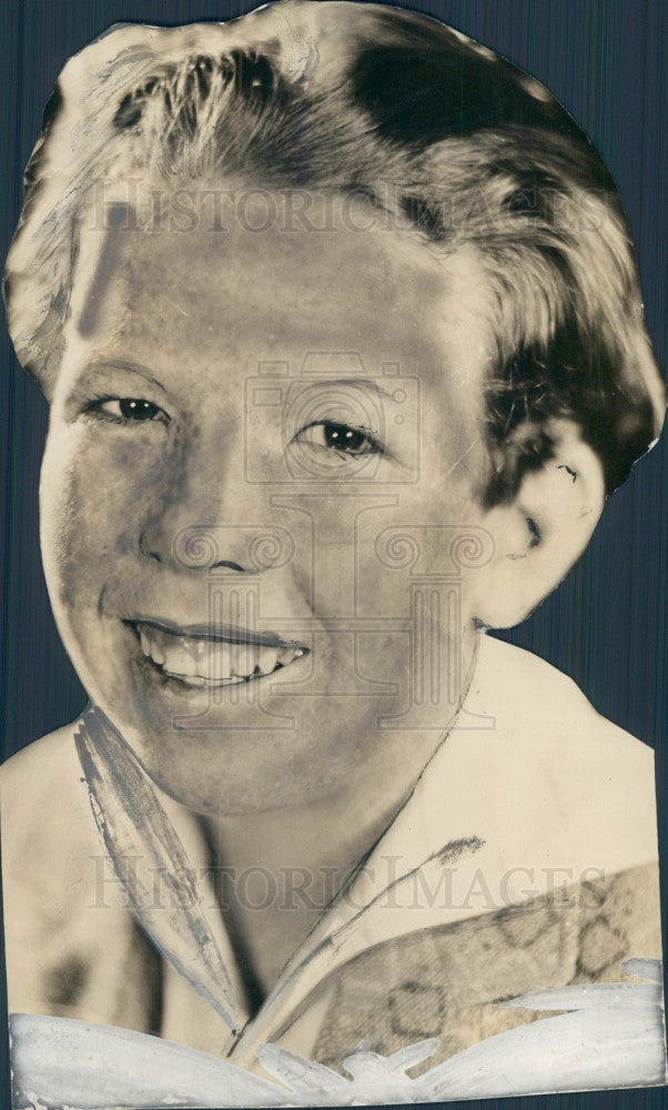 1927 Freckled Face Actor Richard Daniels Press Photo - Historic Images