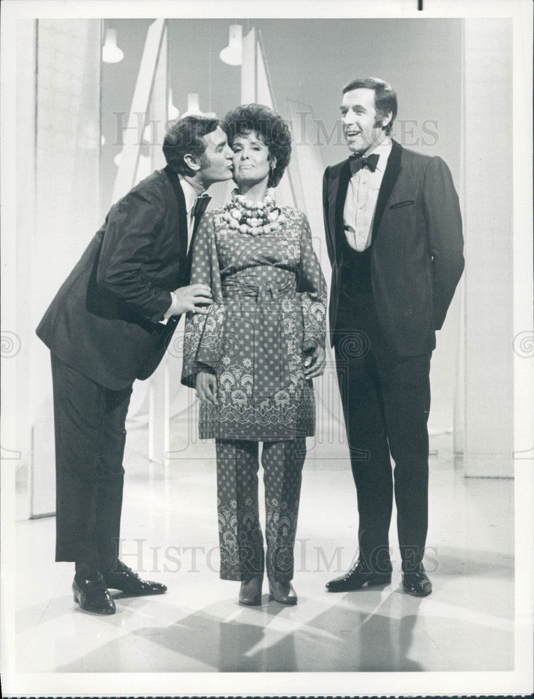 1969 Raplh Young/Lena Horne/Tony Sandler Press Photo - Historic Images