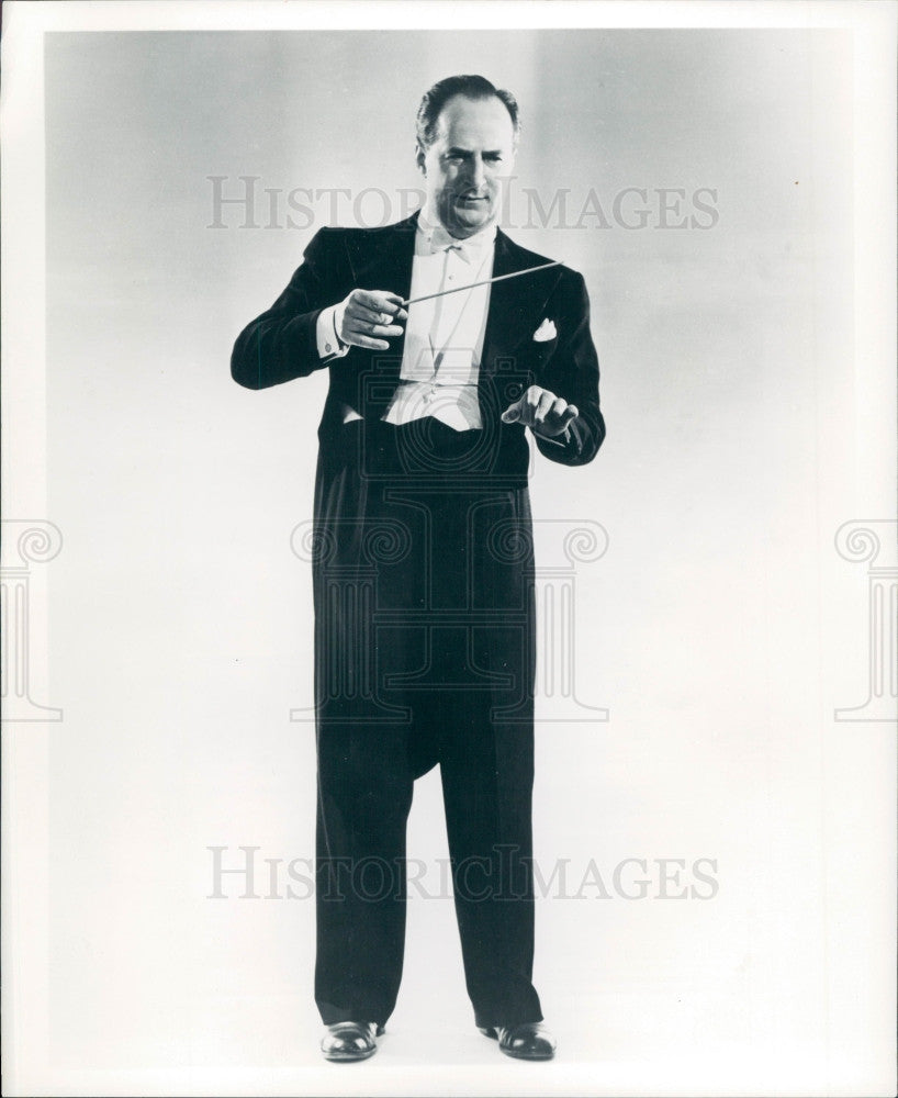 1957 Musician/Composer/Director George Melachrino Photo - Historic Images