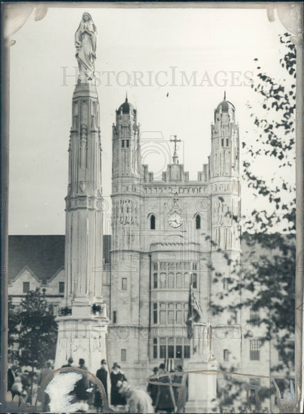 1927 Marygrove College Press Photo - Historic Images