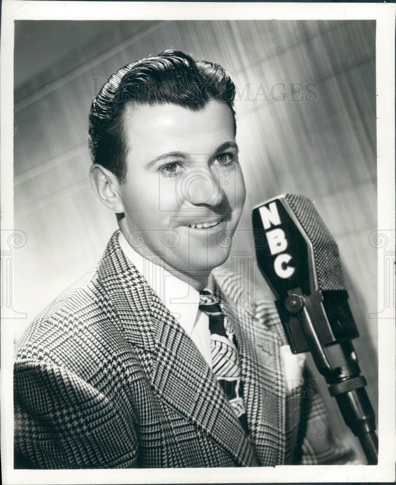 1952 Actor Dennis Day Press Photo - Historic Images