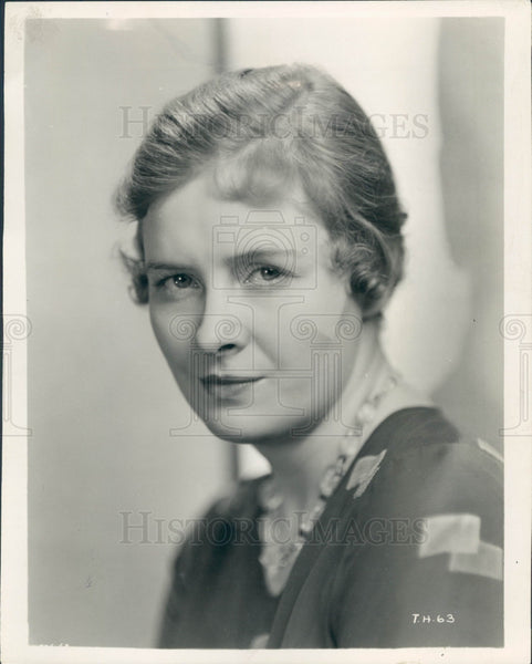 1931 Actress Dorothy Peterson Press Photo - Historic Images