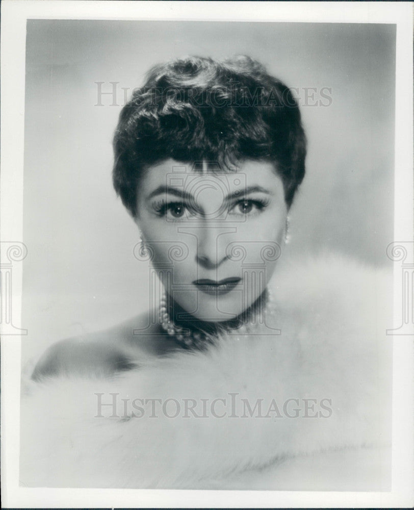 1956 Opera Star Roberta Peters Press Photo - Historic Images