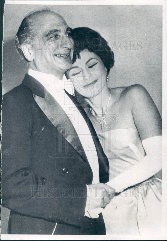 1960 Opera Roberta Peters & Max Rudolf Press Photo - Historic Images