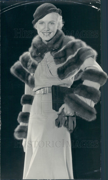 1932 Actress Julie Haydon Press Photo - Historic Images