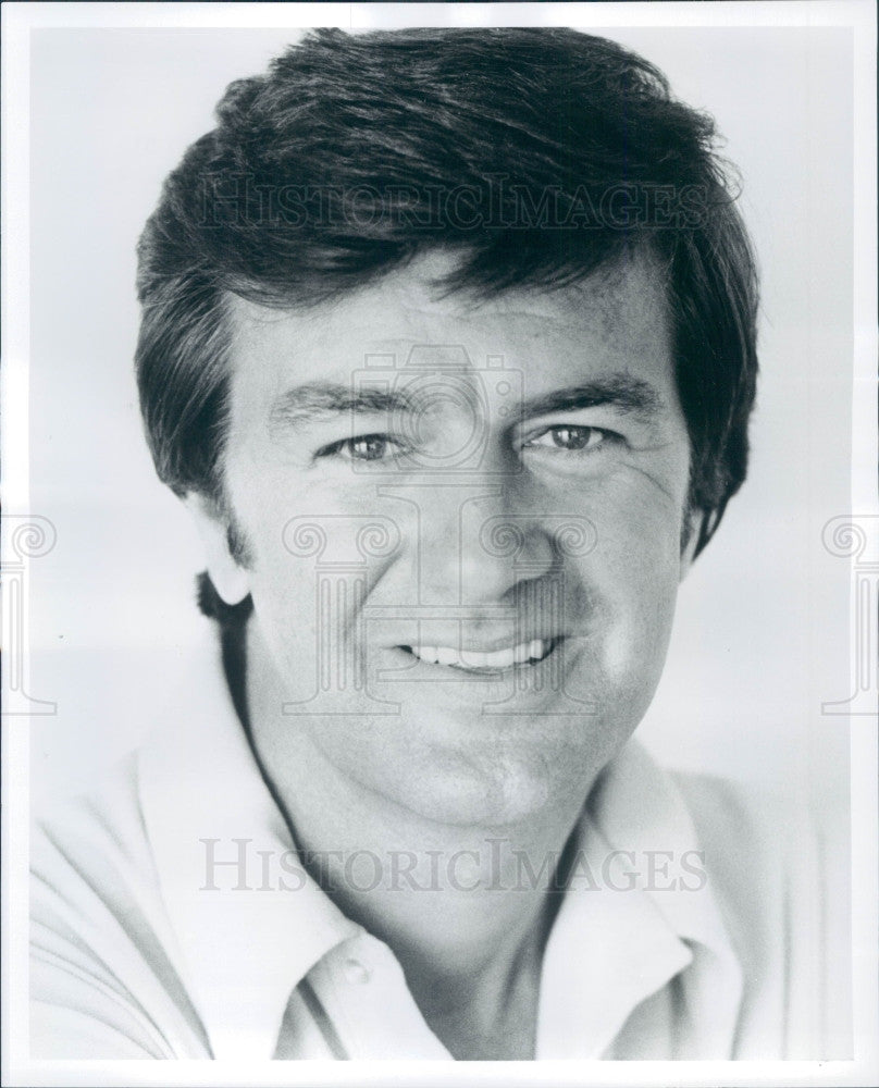 1973 Actor Ron Masak Press Photo - Historic Images