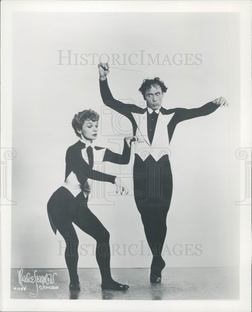 1960 Dance Team Mata & Hari Press Photo - Historic Images