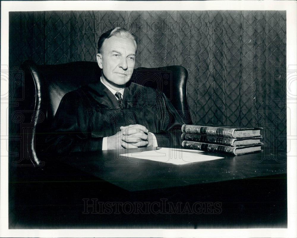 Undated Divorce Court Judge V Perkins Press Photo - Historic Images
