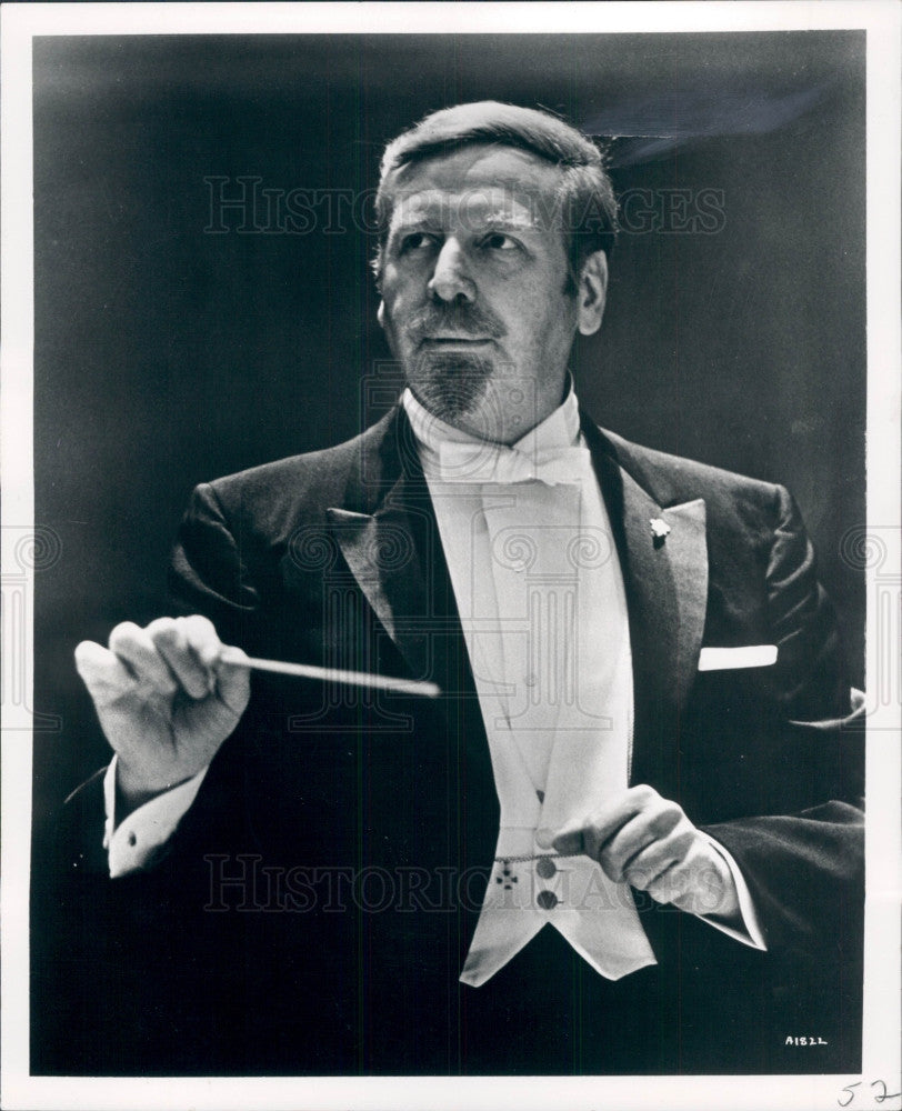1972 Pianist Conductor Skitch Henderson Press Photo - Historic Images
