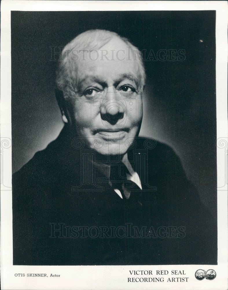 1942 Actor Otis Skinner Press Photo - Historic Images