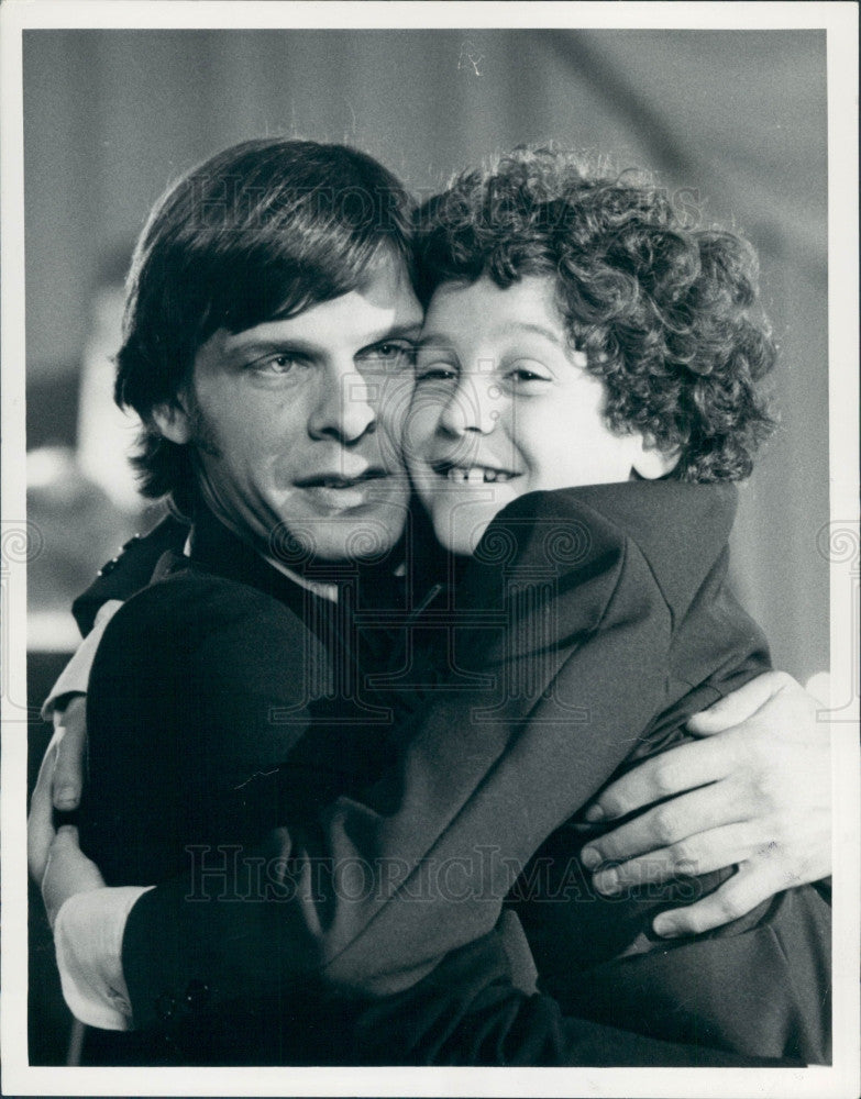 1977 Actors Marc Singer and Jeff Lynas Press Photo - Historic Images