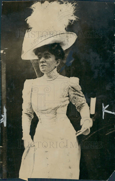 1911 Duchess of Talleyrand Press Photo - Historic Images
