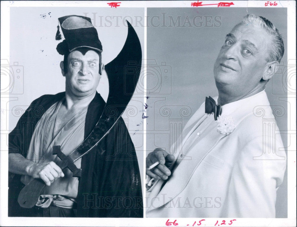 1982 Comedian Rodney Dangerfield Press Photo - Historic Images