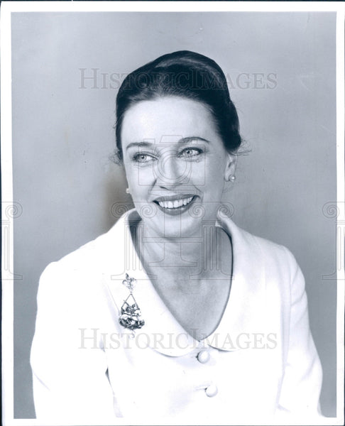 1965 Actress/Singer Patricia Morison Press Photo - Historic Images