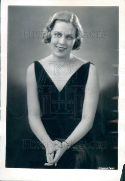 1932 Actress Ethel Barrymore Colt Press Photo - Historic Images