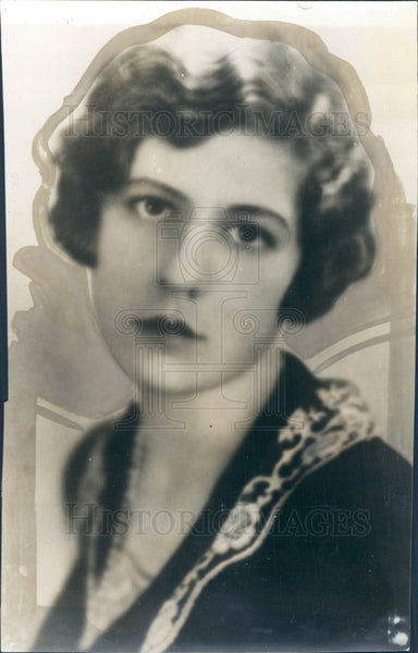1929 Actress Ethel Barrymore Colt Press Photo - Historic Images