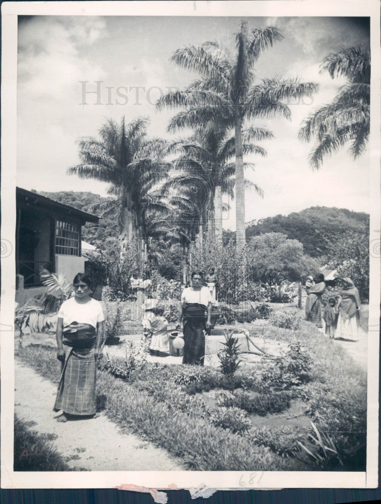 1930 Guatemalan Coffee Finca Press Photo - Historic Images
