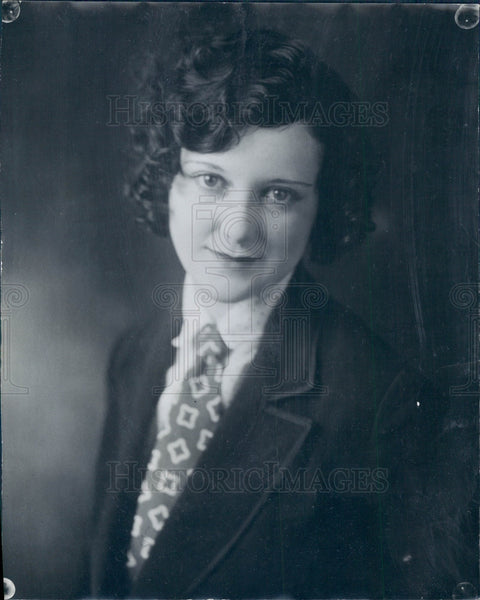 1927 Miss Colorado Dulcy Burke Press Photo - Historic Images