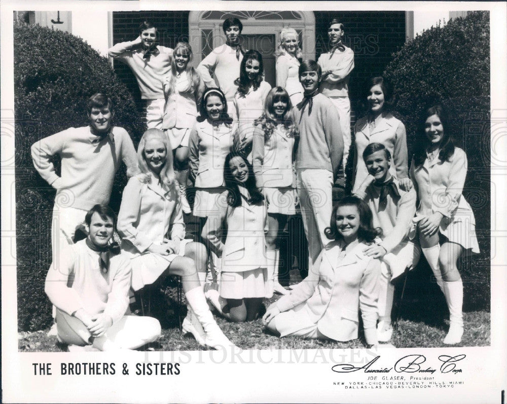 1969 Singing Group The Brothers Sisters Press P O Historic Images