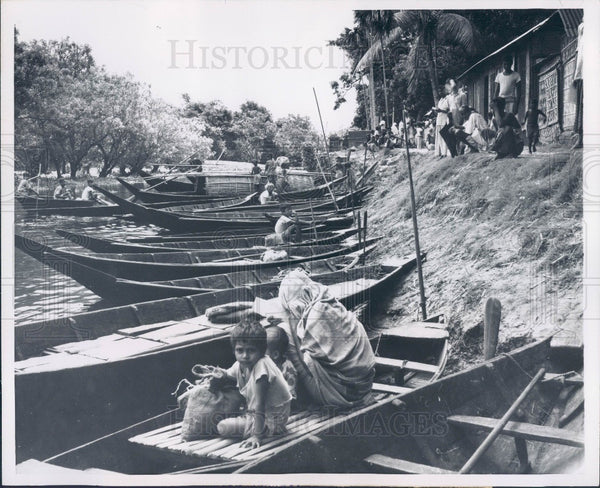 1960 East Pakistan Transportation Boats Press Photo - Historic Images