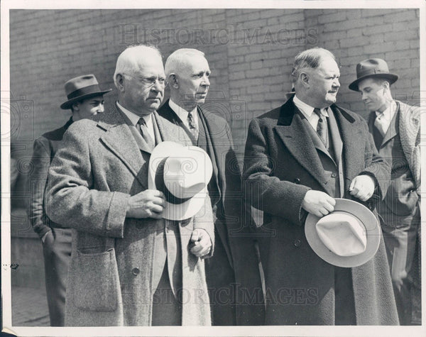 1932 Detroit MI Rutledge/Sullivan/O'Grady Press Photo - Historic Images
