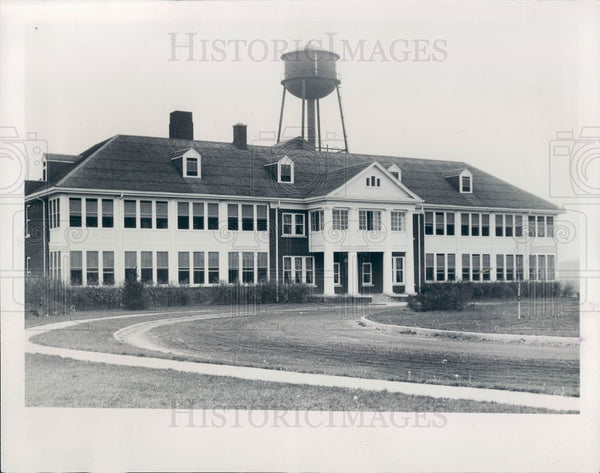 1932 Detroit Leland Tuberculosis Sanatorium Press Photo - Historic Images