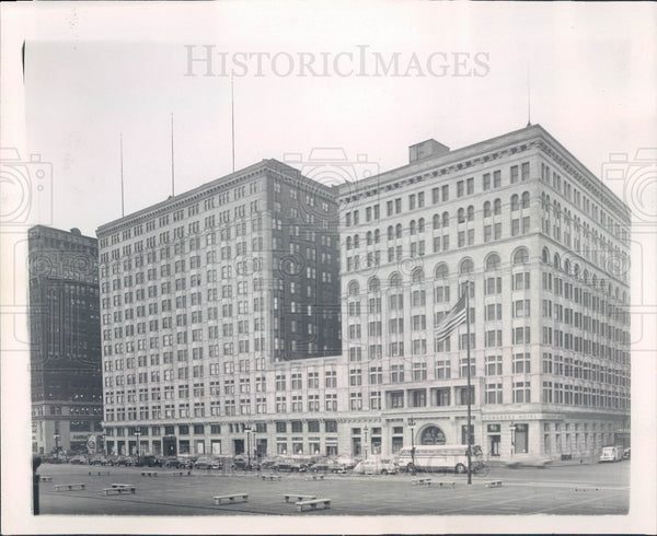 1945 Chicago Illinois Congress Hotel Press Photo - Historic Images