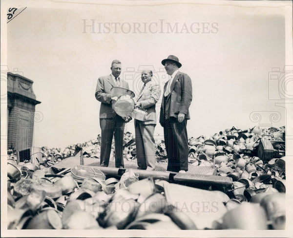 1941 Chicago Aluminum Drive Press Photo - Historic Images