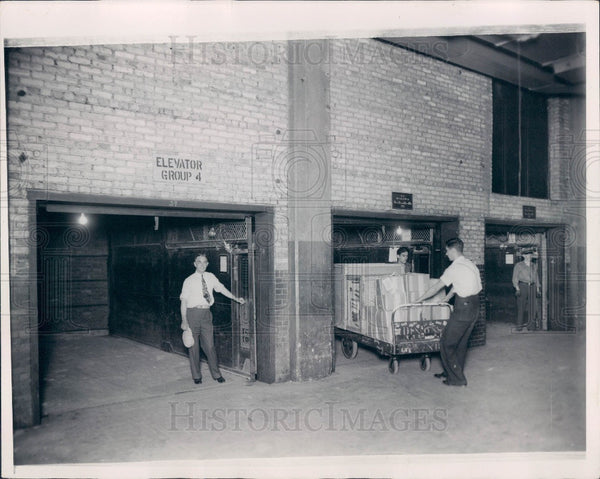 1938 Chicago Illinois Merchandise Mart Press Photo - Historic Images