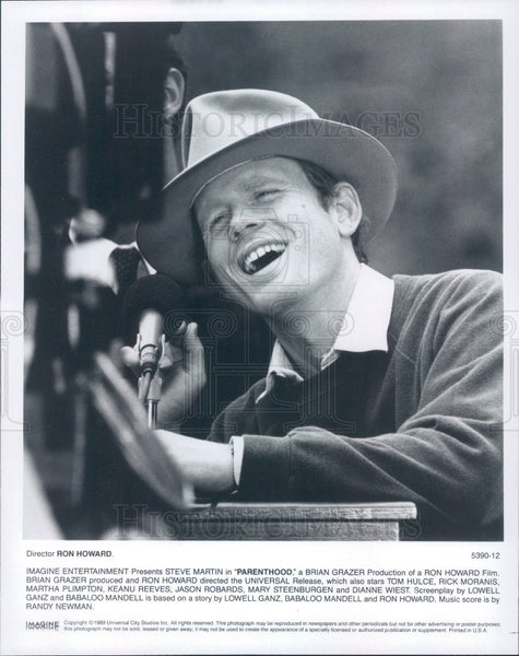 1989 Actor/Director Ron Howard Press Photo - Historic Images