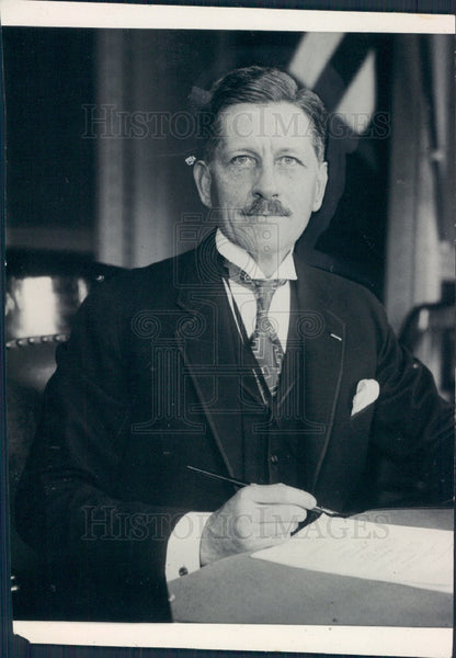 1929 US Asst Secr of War Patrick Hurley Press Photo - Historic Images