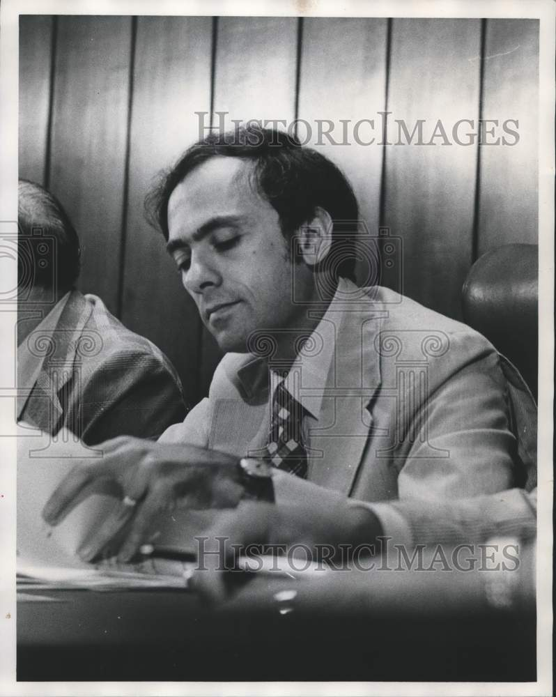 1976 Press Photo Ben Erdreich, Jefferson County Commissioner - abna18565 - Historic Images