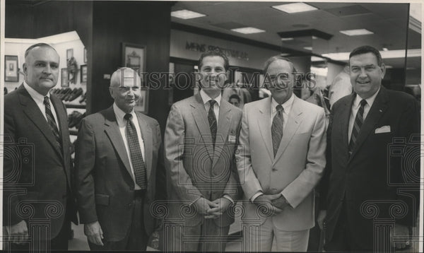 1989, Bill Hendley, Emil Hess, Donald Hess, Bill Harbert, John Woods - Historic Images