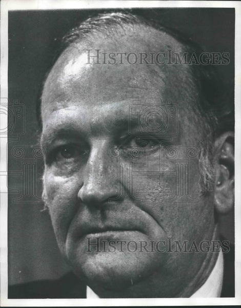 1974 Press Photo Tom Gloor, Jefferson County Commissioner - abna35238 - Historic Images