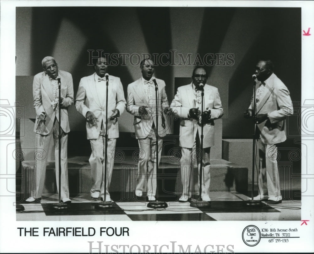 1990 Press Photo Singers The Fairfield Four - abna41945 - Historic Images