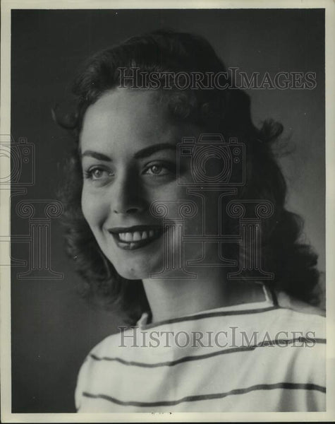 Press Photo Shirley Jean Sapp, Miss Alabama Contest 1958 - abna44203 - Historic Images