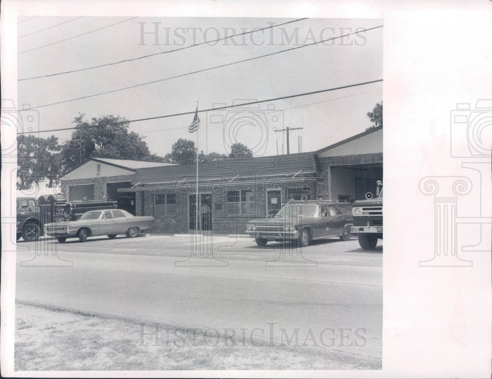 1971 SW Pasco County Florida Volunteer Fire Dept Press Photo - Historic Images