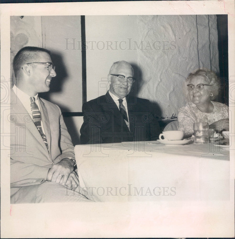 1967 New Port Richey FL Mayor Clair Kohler/Crane/Kovisto Press Photo - Historic Images