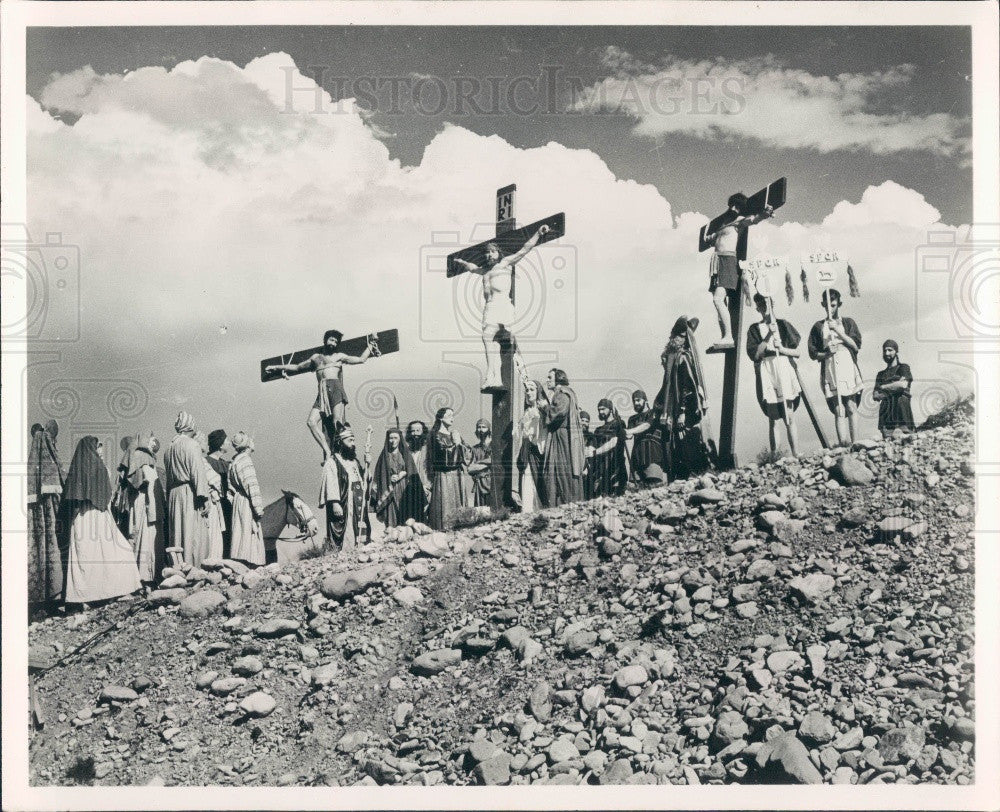 1965 Spearfish South Dakota Black Hills Passion Play Press Photo - Historic Images