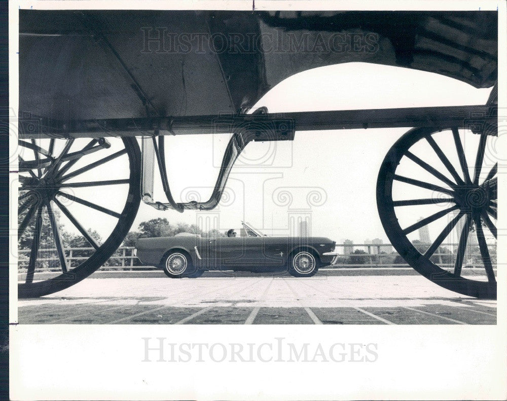 1983 Classic 1965 Ford Mustang Convertible Press Photo - Historic Images