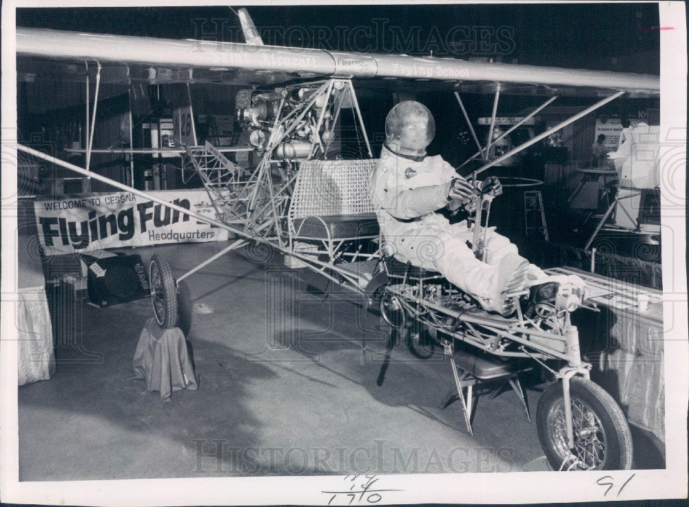 1969 Pinellas County Florida Industrial & Aerospace Exhibition Press Photo - Historic Images