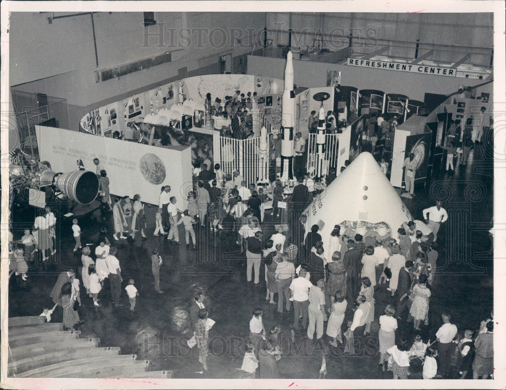 1967 Pinellas County Florida Industrial & Aerospace Exhibition Press Photo - Historic Images