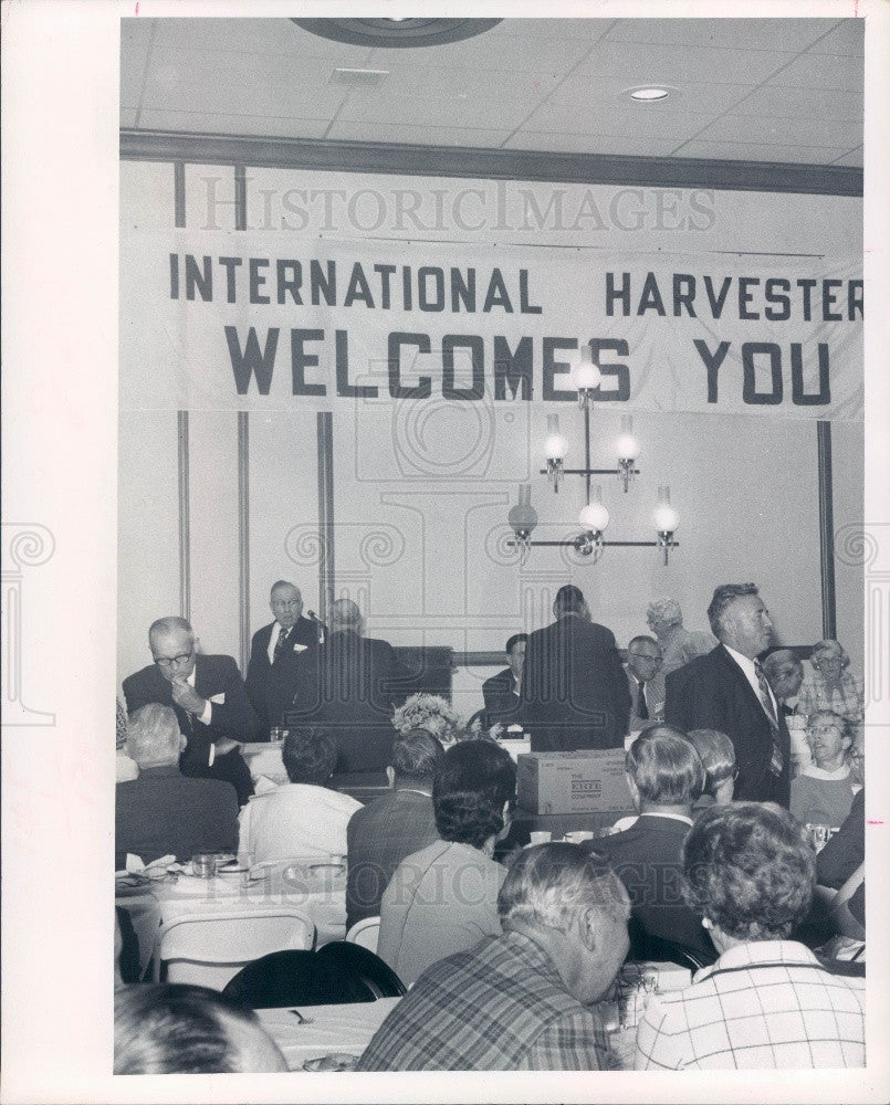 1972 St. Petersburg Florida International Harvester Rally Press Photo - Historic Images