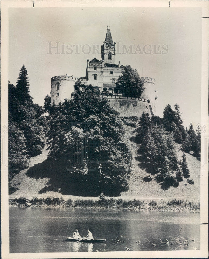 Undated Trakoscan Yugoslavia Medieval Castle-Fortress Press Photo - Historic Images