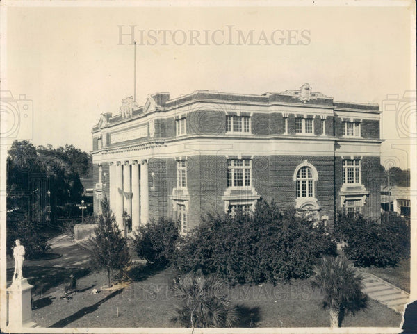 1920's Brooksville Hernando Florida County Court House Press Photo - Historic Images