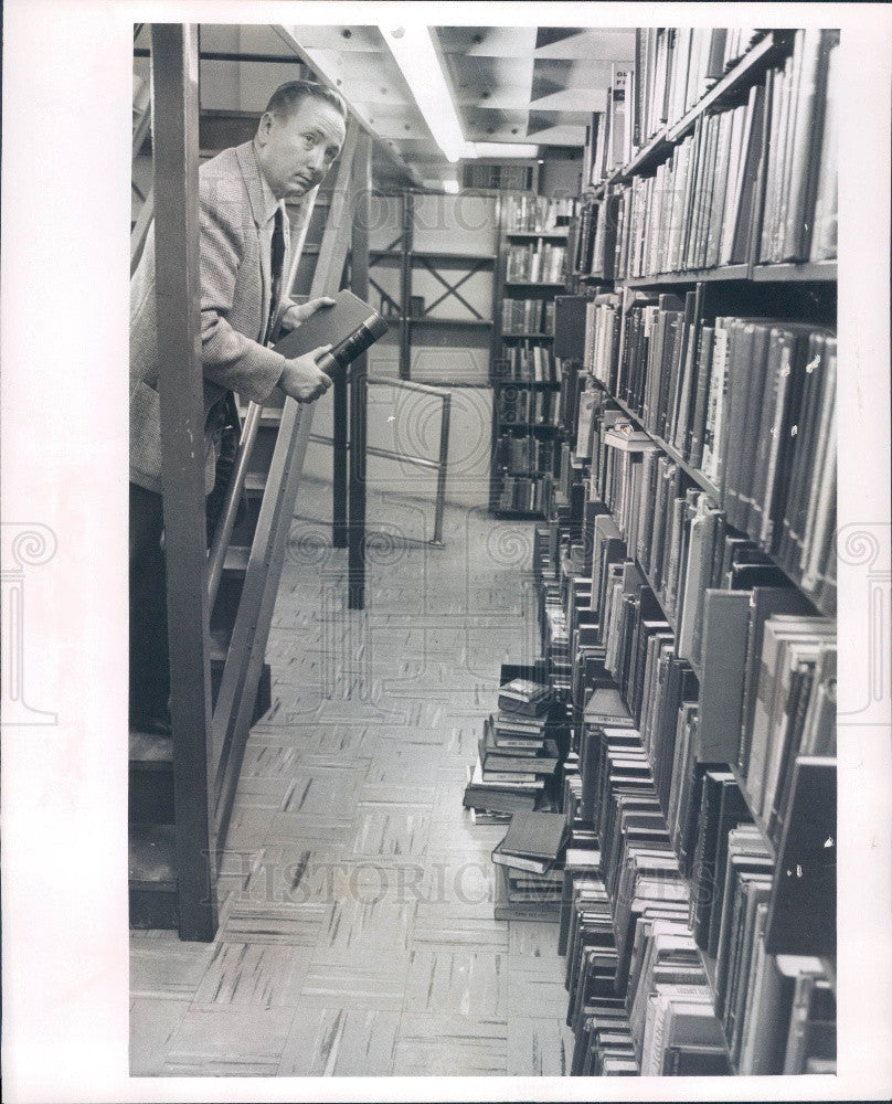 1967 Florida State Historian F. William Summers Press Photo - Historic Images