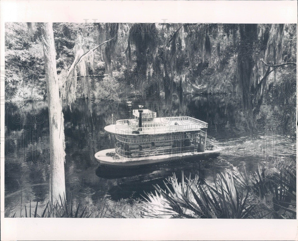 1970 White Springs Florida Stephen Foster Park Press Photo - Historic Images