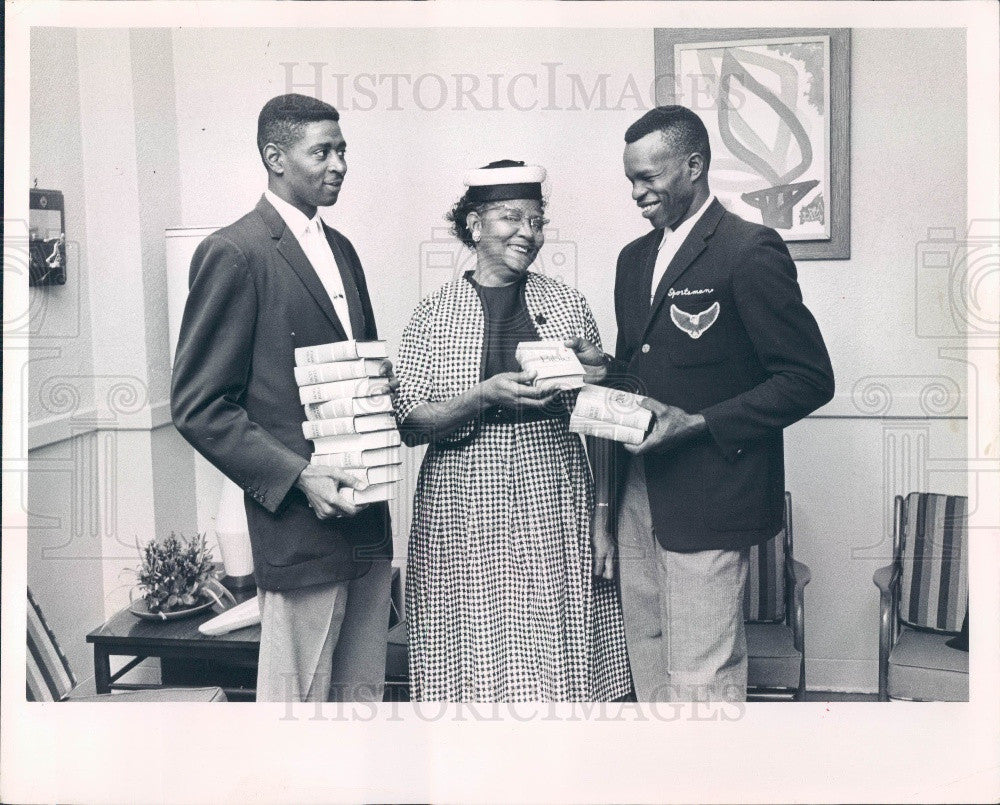 1963 St. Petersburg Florida Sportsman's Club Members Press Photo - Historic Images