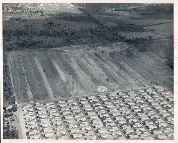 1968 Clearwater Florida Palm Lake Village Mobile Home Park Press Photo - Historic Images